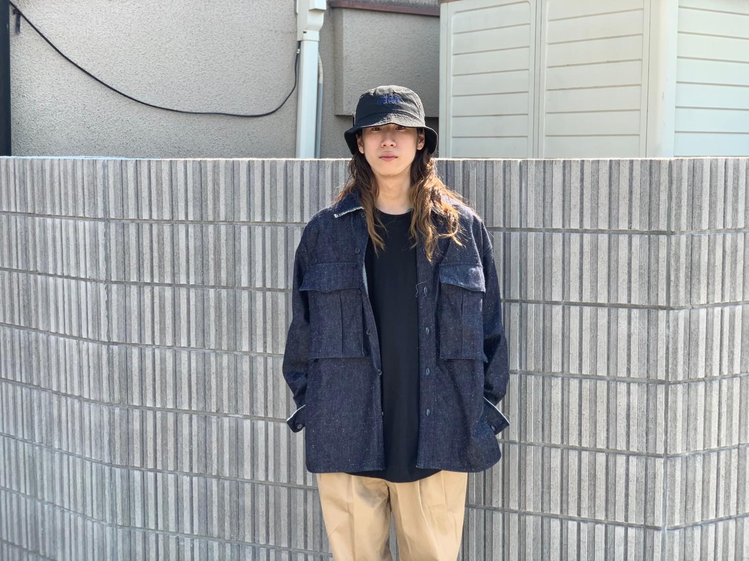 "\""JieDa\""<<SILK DENIM OVER SHIRT>>Style~KODAI~_c0167336_21473902.jpg"