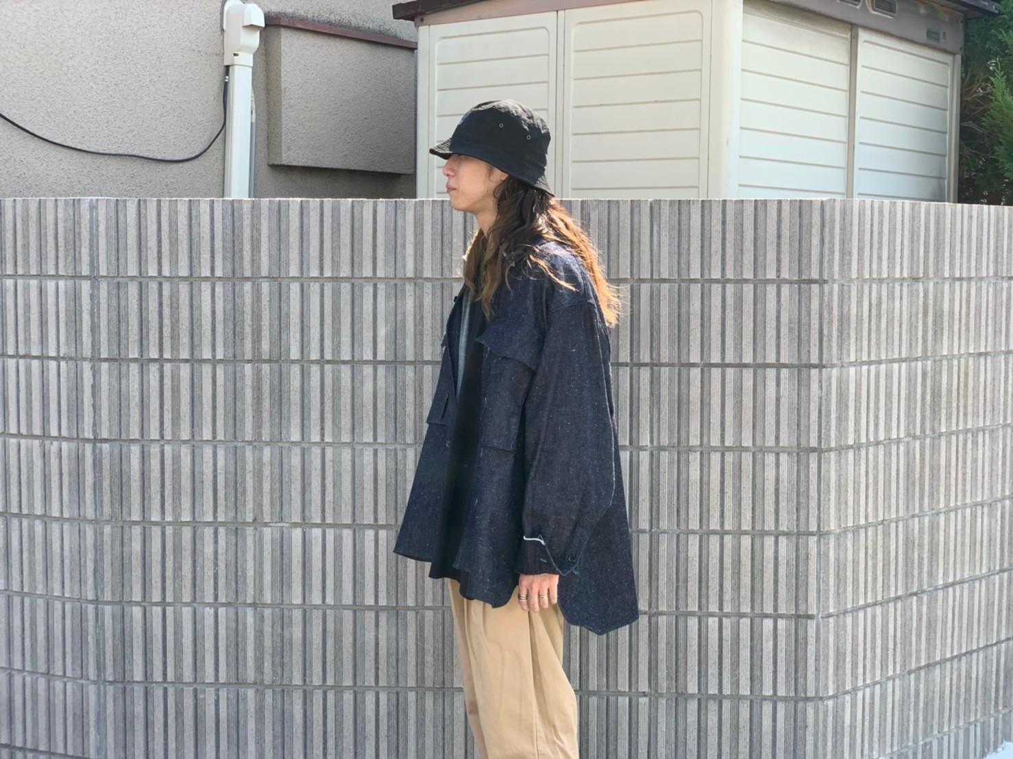 "\""JieDa\""<<SILK DENIM OVER SHIRT>>Style~KODAI~_c0167336_21482828.jpg"