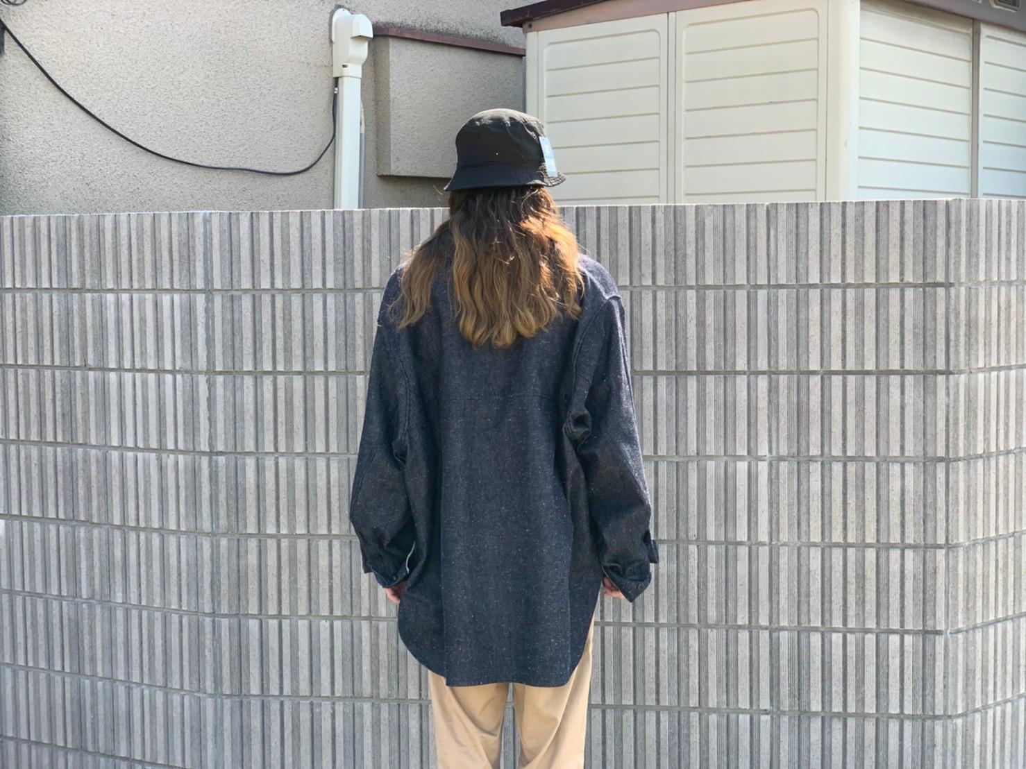 "\""JieDa\""<<SILK DENIM OVER SHIRT>>Style~KODAI~_c0167336_21484910.jpg"