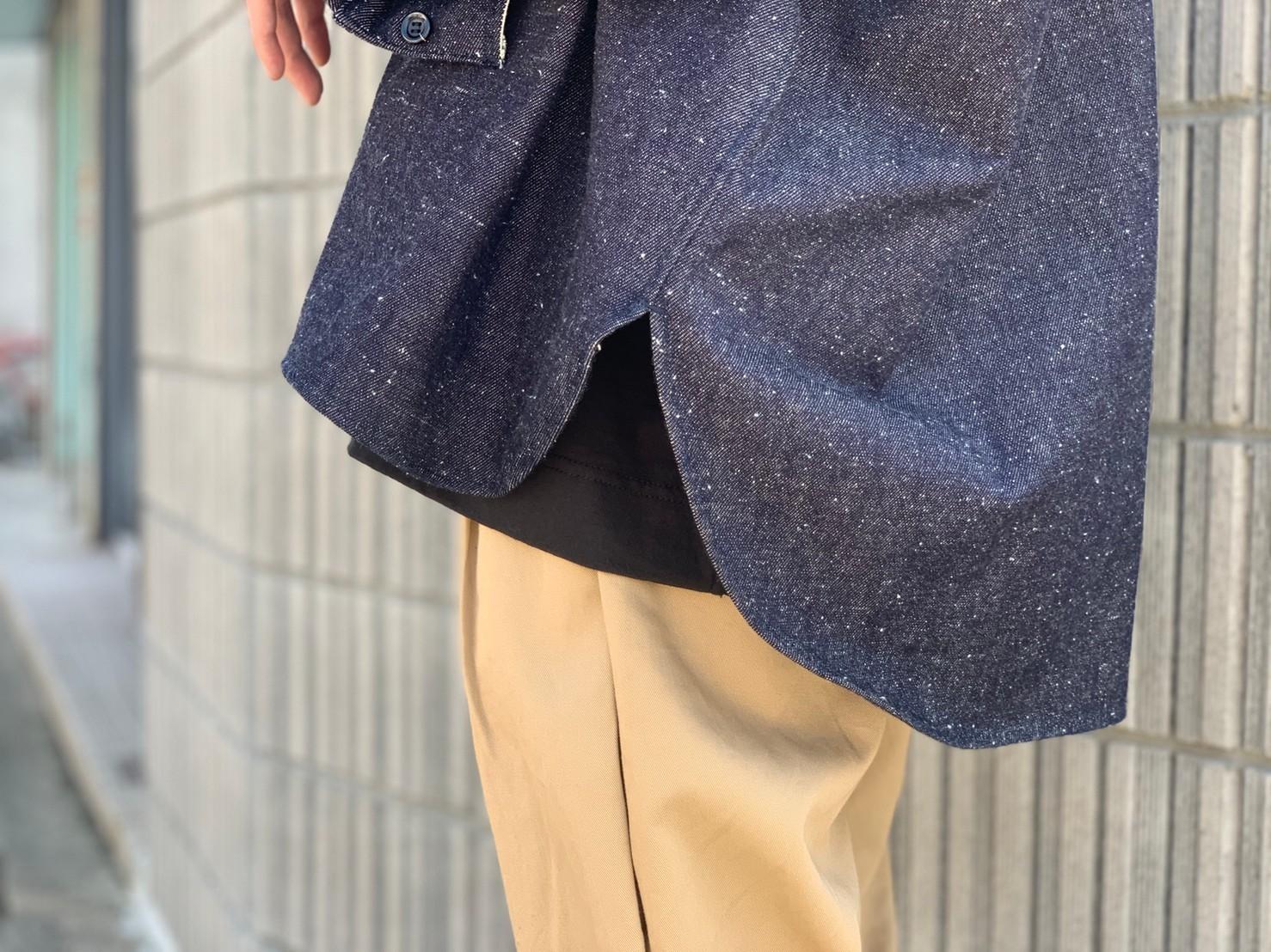 "\""JieDa\""<<SILK DENIM OVER SHIRT>>Style~KODAI~_c0167336_21492643.jpg"
