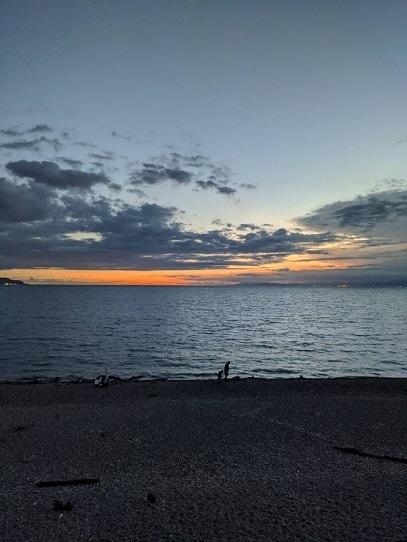 仕事終わりの千本浜が最高だった。_b0016474_11161722.jpg