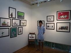 2020.9.1 YUSUKE MATSUNAGA個展のご案内 & 8月の花_e0189606_15004308.jpg