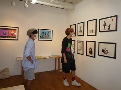 2020.9.1 YUSUKE MATSUNAGA個展のご案内 & 8月の花_e0189606_15005239.jpg