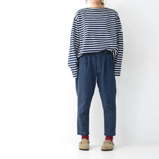 ORCIVAL [オーチバル・オーシバル] VASQUE STRIPE BIGGER TEE [B211C] バスクシャツ・ビッグT・ボーダーカットソー・LADY\'S _f0051306_17382107.jpg