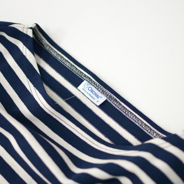 ORCIVAL [オーチバル・オーシバル] VASQUE STRIPE BIGGER TEE [B211C] バスクシャツ・ビッグT・ボーダーカットソー・LADY\'S _f0051306_17382136.jpg