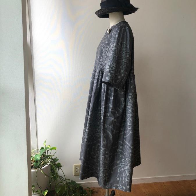 着物リメイク・大島紬からワンピース_d0127925_15315177.jpg