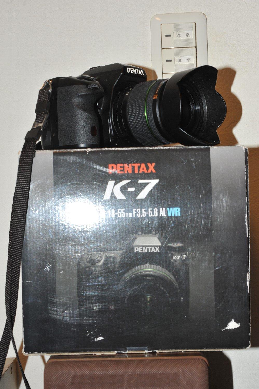 ペンタックス K-7 ゲット_b0069128_10190951.jpg
