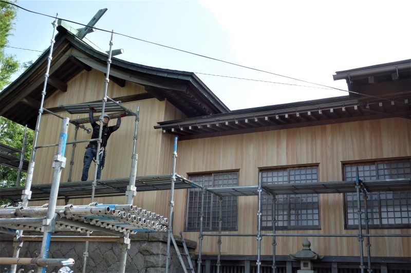 桧 外壁 縦張り_e0156341_11224251.jpg