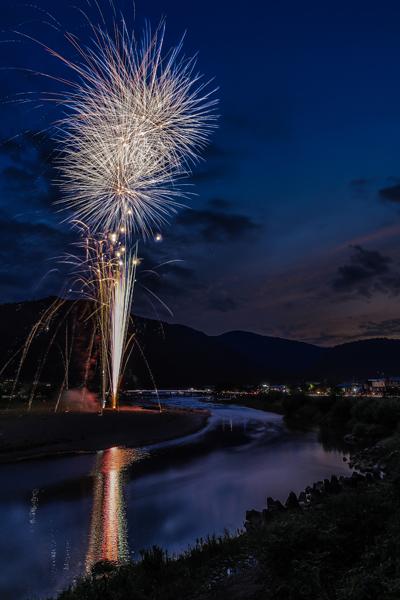 嵐山花火_e0051888_07452107.jpg