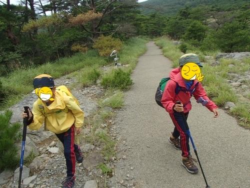 2020 短い夏の山登り ~OちゃんSちゃんの大冒険 リベンジ編~_e0314407_18240502.jpg
