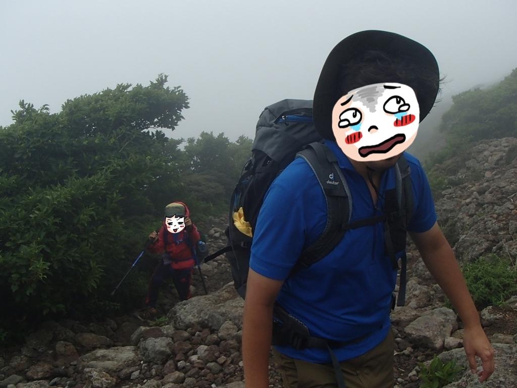 2020 短い夏の山登り ~OちゃんSちゃんの大冒険 リベンジ編~_e0314407_18291468.jpg