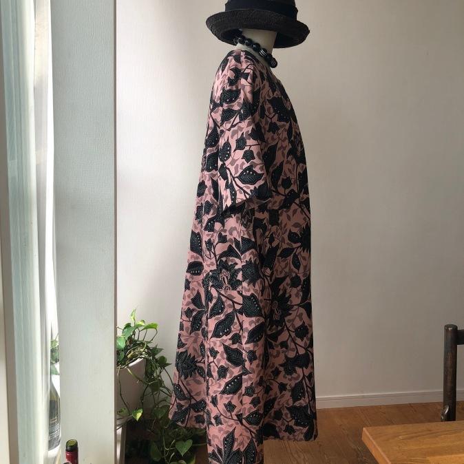 着物リメイク・シルクウールのお着物からワンピース_d0127925_12171408.jpg
