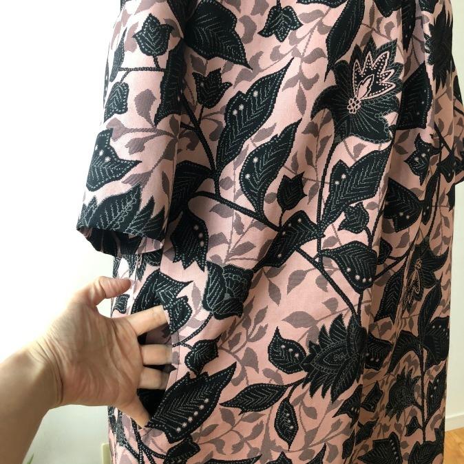 着物リメイク・シルクウールのお着物からワンピース_d0127925_12172042.jpg