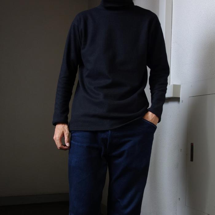10月の製作 / DA woolknit highneck longsleeve_e0130546_18035893.jpg