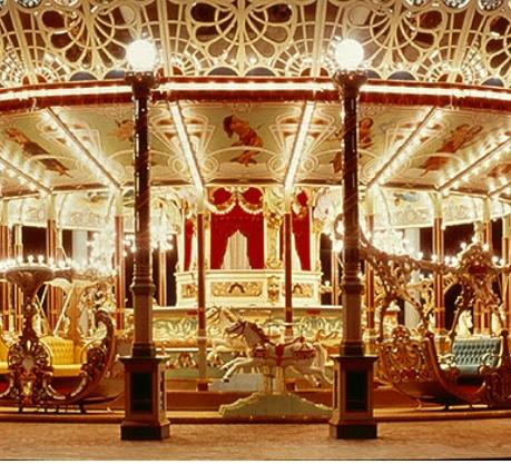 Carousel Eldorado @豊島園   機械遺産_a0165160_18550861.jpg