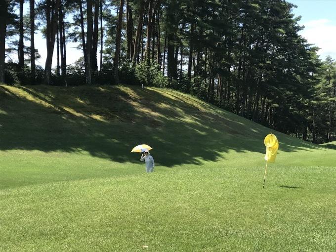 家内と2人、暑い最中にゴルフです_b0100062_08160897.jpeg