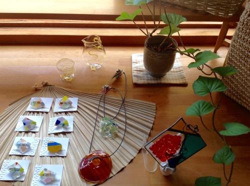 ガラス工房Moana 伊藤由貴さんのガラス作品入荷しました_b0153663_17412329.jpeg