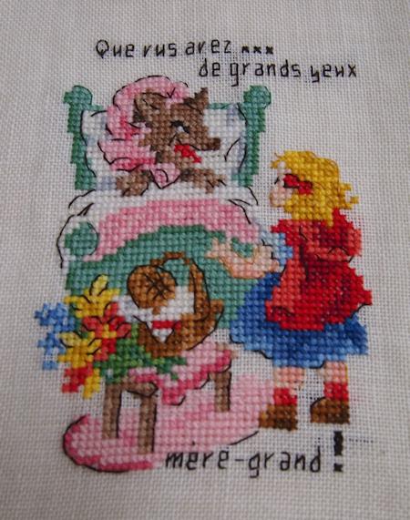 Le Petit Chaperon Rouge 5♪ _a0143686_12281252.jpg