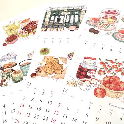 2021年版オリジナルカレンダー 椿ラボ京都限定発売!_d0121897_05245650.jpg