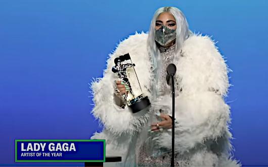 2020年MTVビデオ・ミュージック・アワード授賞式は、レディ・ガガさんのショー(受賞スピーチ全文和訳付き)_b0007805_01453142.jpg
