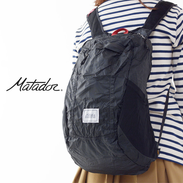 Matador[マタドール] DL16 BACKPACK [20370006] DL16バックパック・折りたたみ・ エコバッグ・軽量・防水・MEN\'S/LADY\'S _f0051306_17080034.jpg