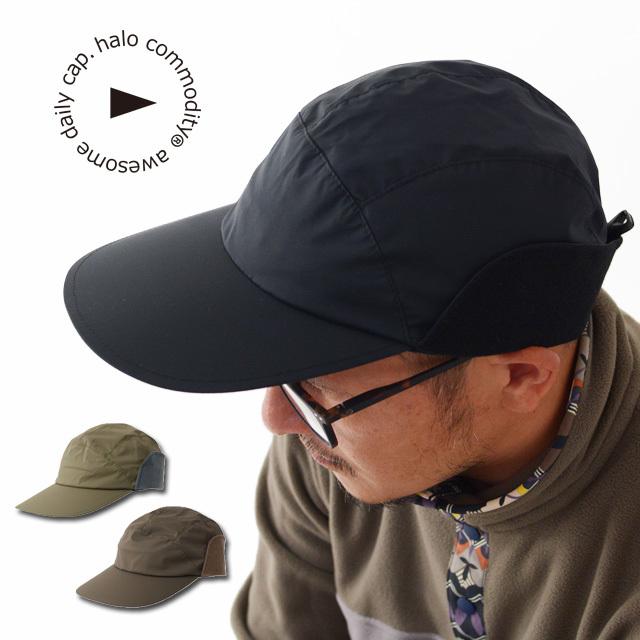 halo.commodity [ハロ コモディティ] Ray Flap Cap[HL-1023W] レイ フラップ・耳付きキャップ・MEN\'S / LADY\'S_f0051306_17251690.jpg