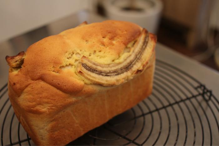 バナナ食パン、マロンテリーヌ、鶏五目ごはん、プライベートレッスンありがとうございました。_c0162653_16305827.jpg