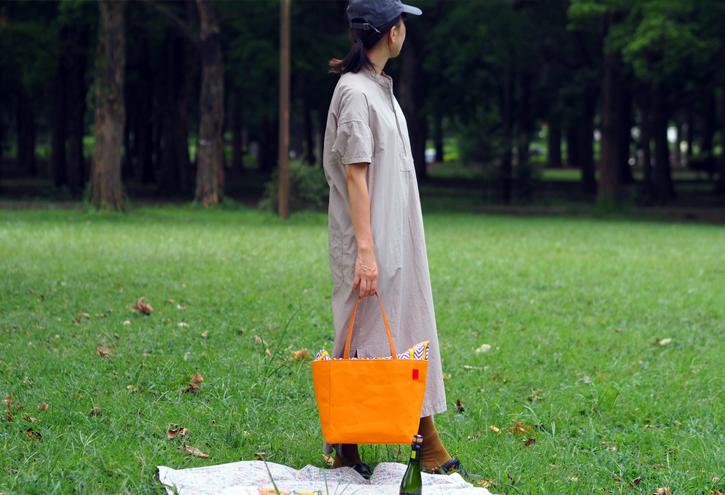キャンバス生地の「picnic tote」_e0243765_13391935.jpg