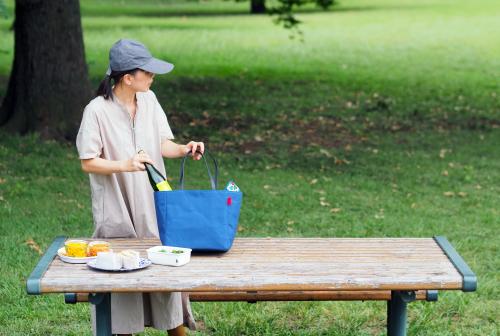 キャンバス生地の「picnic tote」_e0243765_13434785.jpg