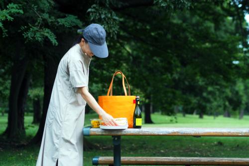 キャンバス生地の「picnic tote」_e0243765_13460169.jpg