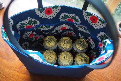 キャンバス生地の「picnic tote」_e0243765_13513405.jpg