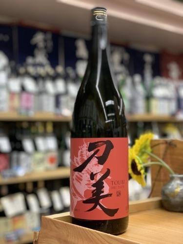 日本酒「刀美 (とうび) 純米 大辛口」吉祥寺の酒屋より_f0205182_20254201.jpg