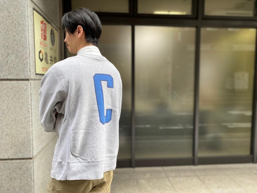 マグネッツ神戸店 9/5(土)秋Superior入荷! #3 Champion Reverse Weave!!!_c0078587_15584966.jpg