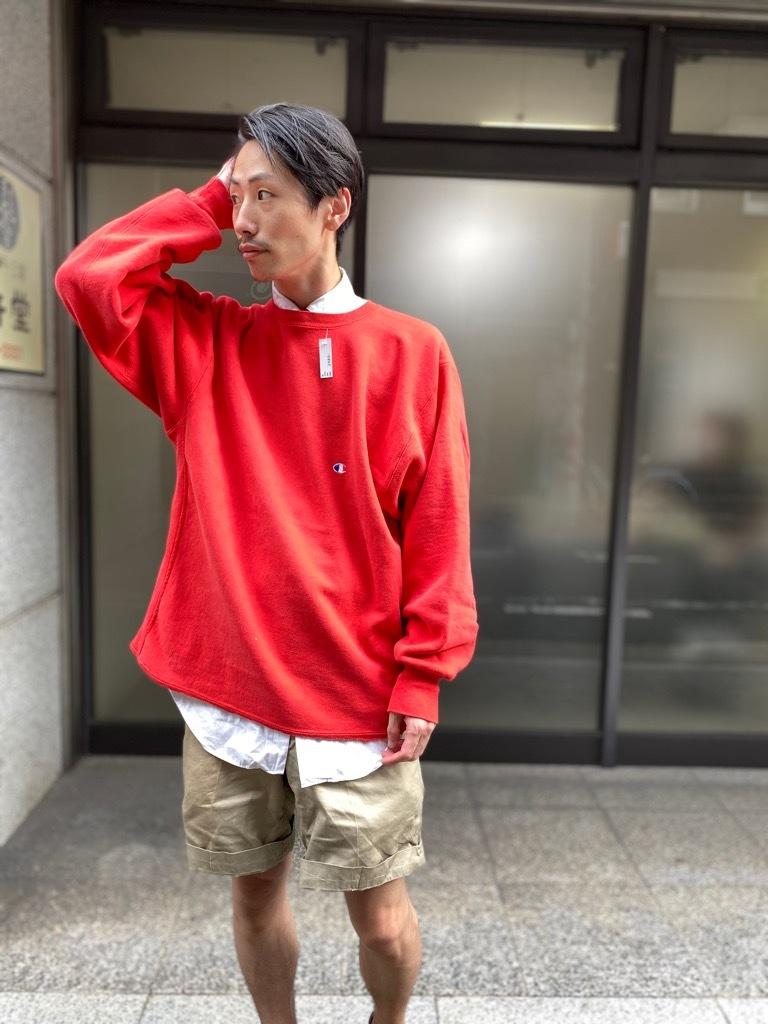 マグネッツ神戸店 9/5(土)秋Superior入荷! #3 Champion Reverse Weave!!!_c0078587_16011447.jpg