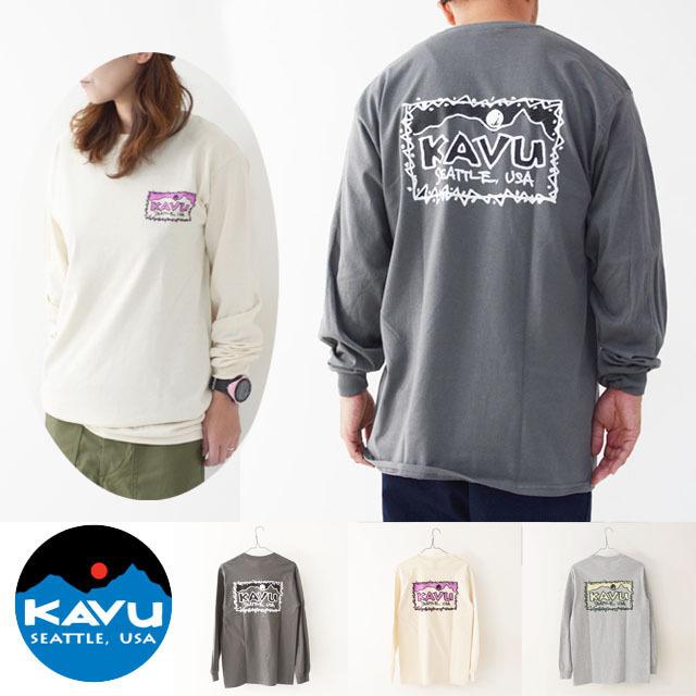 KAVU [カブー] Left L/S Tee [19821319] レフト L/S Tシャツ・ロンティー・MEN\'S _f0051306_10045350.jpg