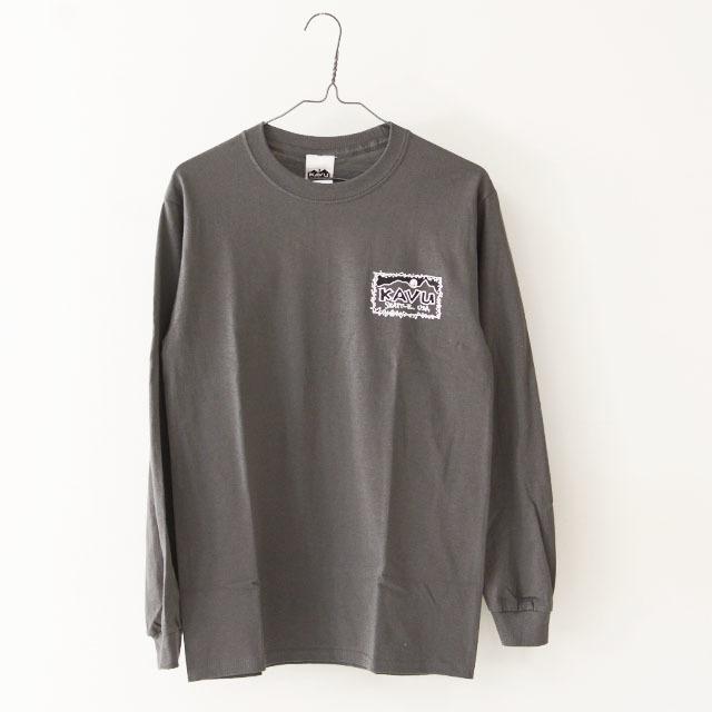 KAVU [カブー] Left L/S Tee [19821319] レフト L/S Tシャツ・ロンティー・MEN\'S _f0051306_10045379.jpg