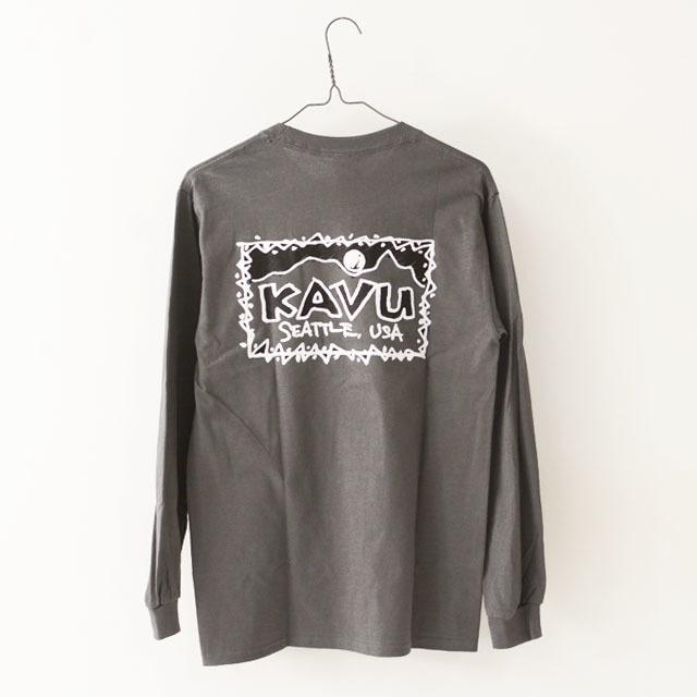 KAVU [カブー] Left L/S Tee [19821319] レフト L/S Tシャツ・ロンティー・MEN\'S _f0051306_10045382.jpg