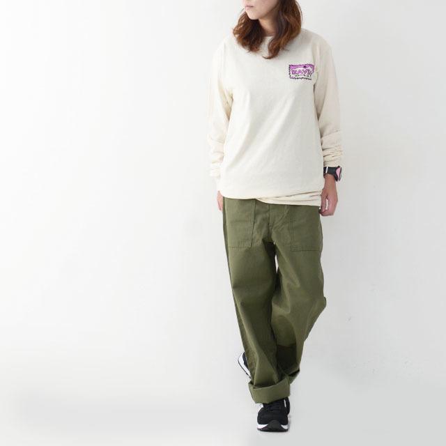 KAVU [カブー] Left L/S Tee [19821319] レフト L/S Tシャツ・ロンティー・MEN\'S _f0051306_10045420.jpg