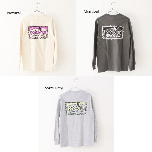 KAVU [カブー] Left L/S Tee [19821319] レフト L/S Tシャツ・ロンティー・MEN\'S _f0051306_10045439.jpg
