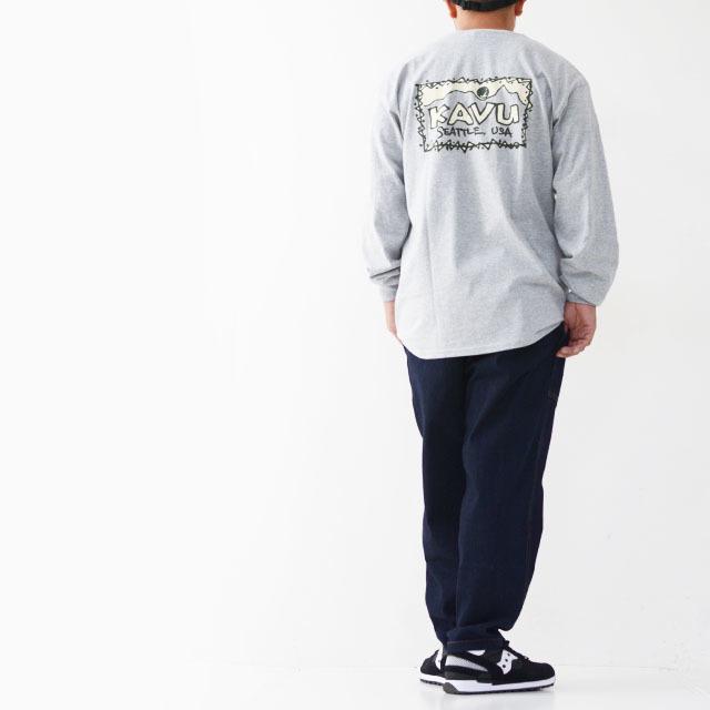 KAVU [カブー] Left L/S Tee [19821319] レフト L/S Tシャツ・ロンティー・MEN\'S _f0051306_10045480.jpg