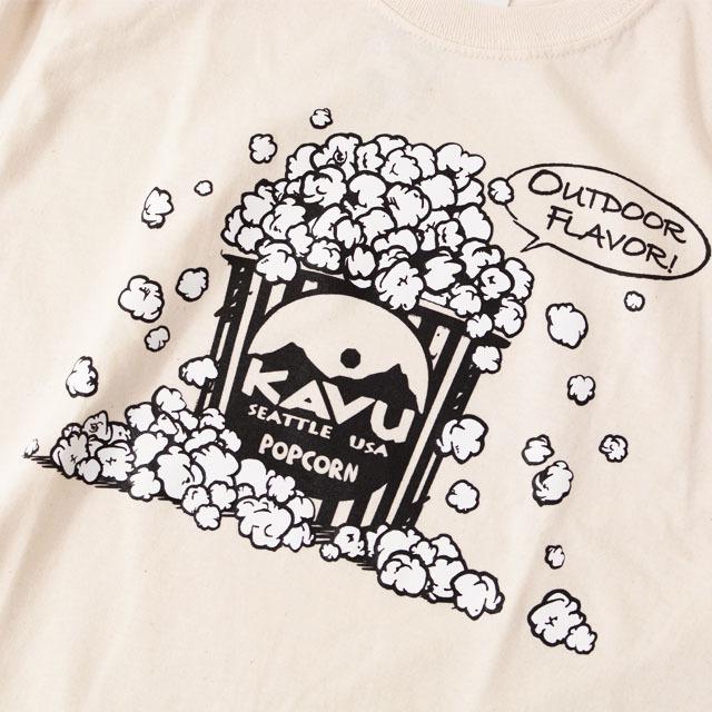 KAVU [カブー] Popcorn L/S Tee [19821318] ポップコーン LS Tシャツ・ロンティー・MEN\'S _f0051306_10115633.jpg
