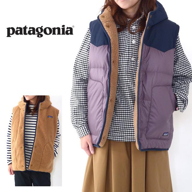 Patagonia [パタゴニア正規代理店] Girls\' Reversible Bivy Hoody Vest [68320] ガールズ・リバーシブル・ビビー・フーディ・ベスト・LADY\'S_f0051306_11332698.jpg