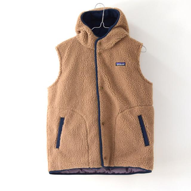 Patagonia [パタゴニア正規代理店] Girls\' Reversible Bivy Hoody Vest [68320] ガールズ・リバーシブル・ビビー・フーディ・ベスト・LADY\'S_f0051306_11332707.jpg