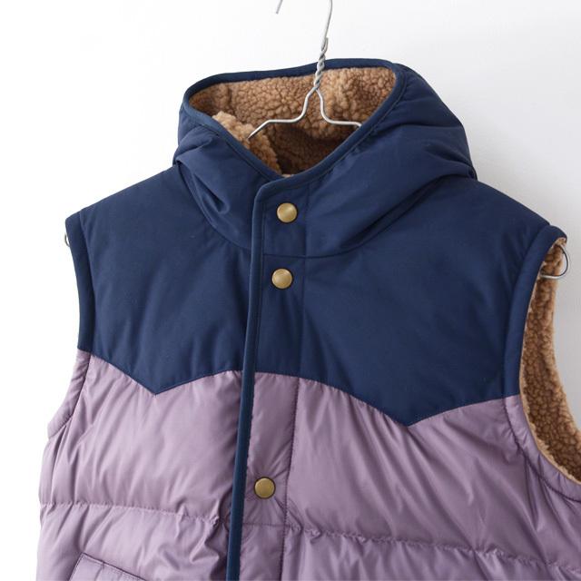 Patagonia [パタゴニア正規代理店] Girls\' Reversible Bivy Hoody Vest [68320] ガールズ・リバーシブル・ビビー・フーディ・ベスト・LADY\'S_f0051306_11332719.jpg