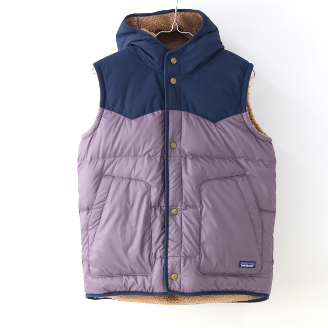Patagonia [パタゴニア正規代理店] Girls\' Reversible Bivy Hoody Vest [68320] ガールズ・リバーシブル・ビビー・フーディ・ベスト・LADY\'S_f0051306_11332743.jpg