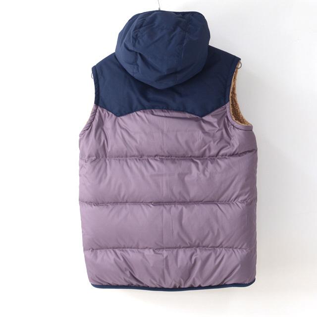 Patagonia [パタゴニア正規代理店] Girls\' Reversible Bivy Hoody Vest [68320] ガールズ・リバーシブル・ビビー・フーディ・ベスト・LADY\'S_f0051306_11332762.jpg