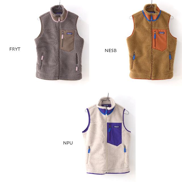 Patagonia [パタゴニア正規代理店] W\'s Classic Retro-X Vest [23083] ウィメンズ・クラシック・レトロX・ベスト LADY\'S_f0051306_13173710.jpg
