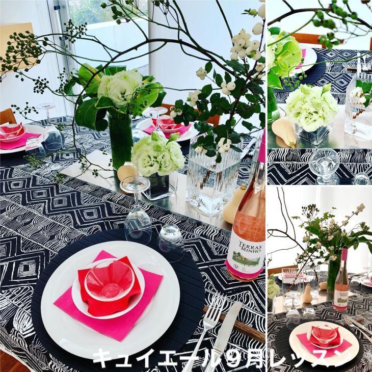 料理教室キュイエール 9月のテーブル_e0134337_12152342.jpg