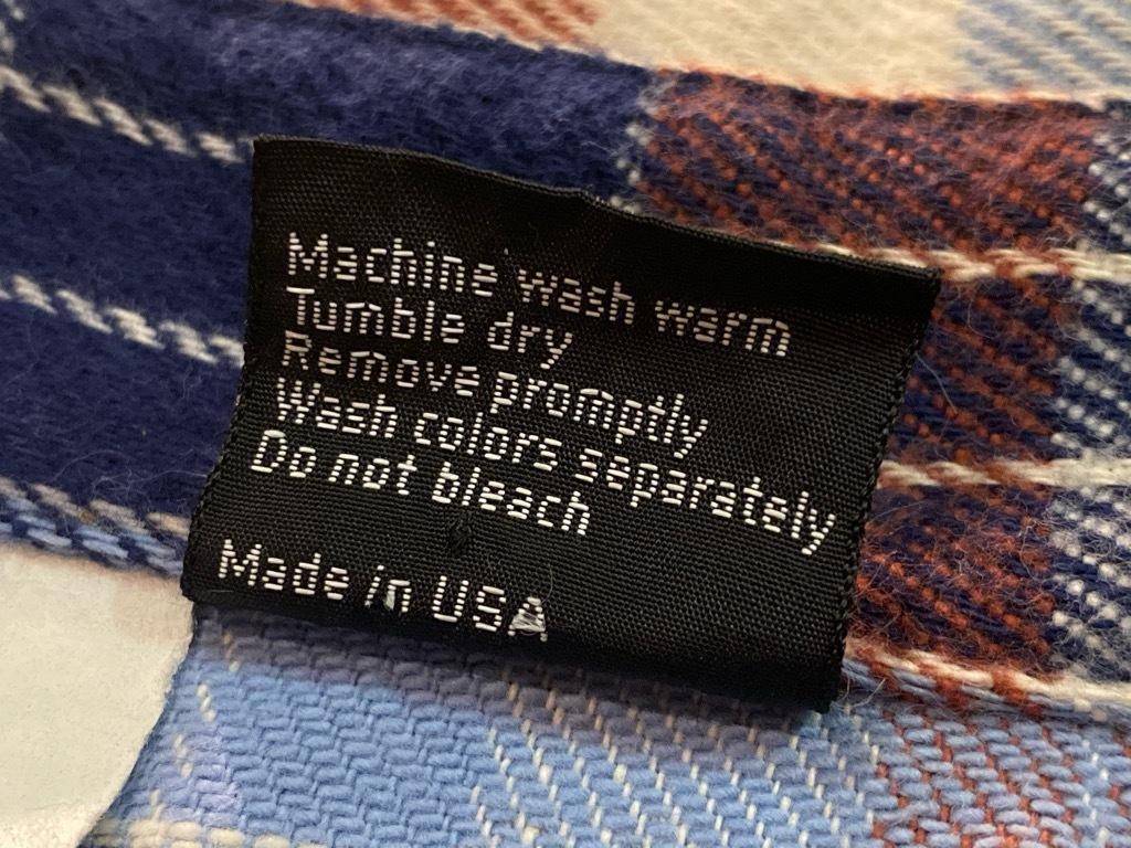 マグネッツ神戸店 9/5(土)秋Superior入荷! #4 Made in U.S.A. Flannel Shirt_c0078587_13023806.jpg