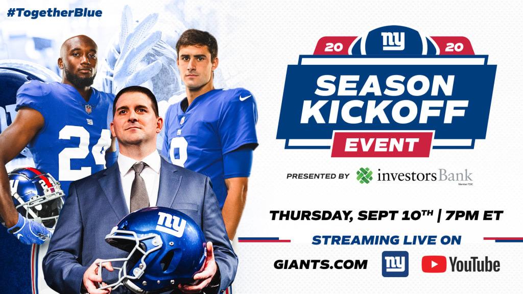 ニューヨーク・ジャイアンツ(New York Giants)が、バーチャル・キックオフ・イベント開催へ_b0007805_23090519.jpg